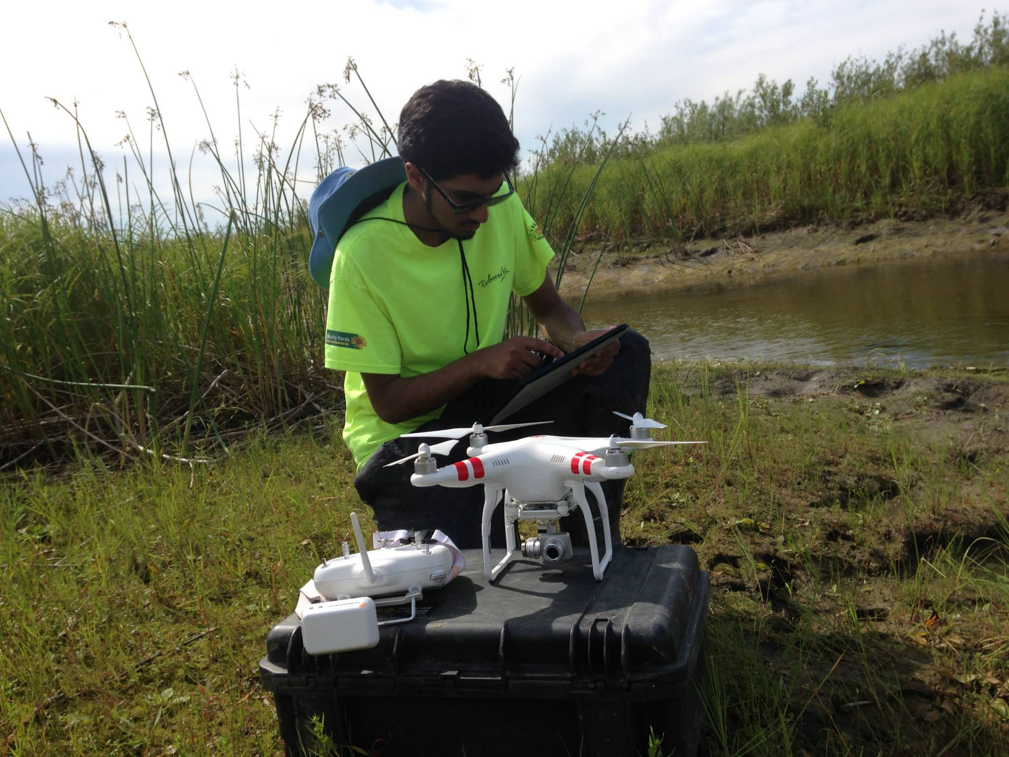 Surface water mapping project using sUAVs in Fort Chipewyan, Alberta