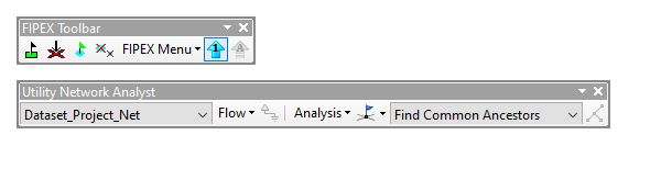 FIPEX toolbar controls available in ArcMap